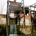 Водосброс - именно сюда нас водили мыться в жаркие дни :)